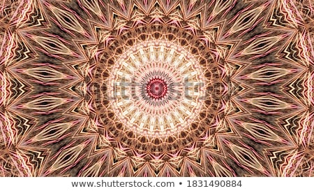 万華鏡 カラフル 画像 フローラル 曼陀羅 抽象的な ストックフォト © stevanovicigor