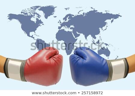 boxing glove and globe Stock photo © pterwort