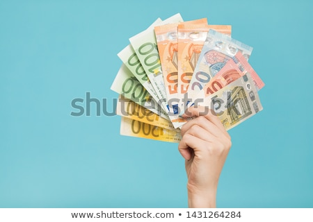 euro banknotes in the hand stock photo © joseph73