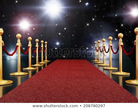 レッドカーペット 映画 星 エンターテイメント 劇場 デザイン ストックフォト © Lightsource