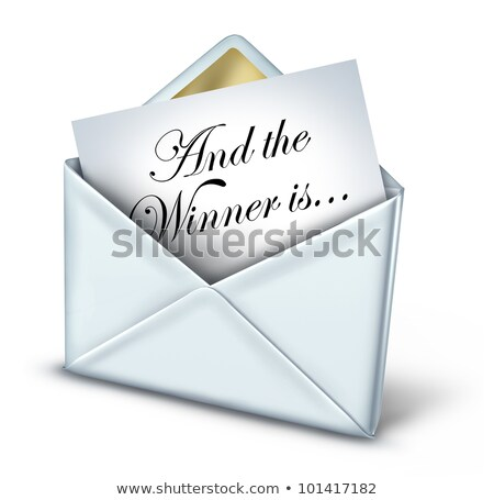 Award Winner Envelope Stock photo © Lightsource