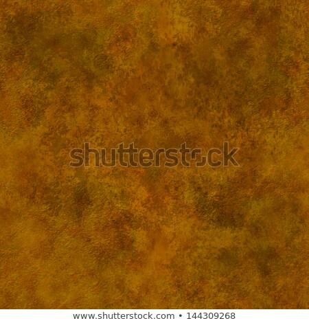 seamless texture of brown decorative plaster wall stock photo © tashatuvango