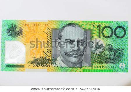 Australian Currency Close-up.  100 AUD Stock photo © dacasdo
