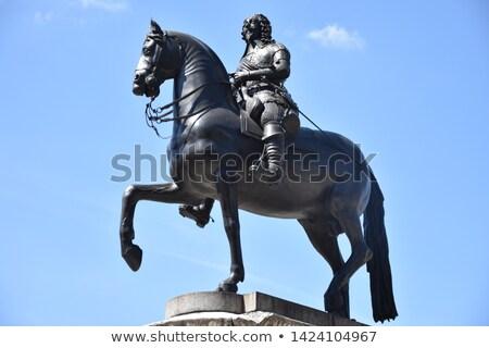 charles i equestrian statue stock photo © snapshot