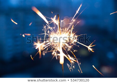 color firework sparkler Stock photo © Paha_L