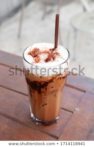 кафе · кофе · мокко · кофе · пить · шоколадный · сироп · шоколадом - Сток-фото © rohitseth