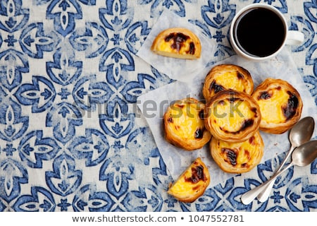 portuguese egg tart Stock photo © Witthaya