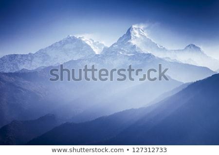 Manzara dağ tibet dağlar yaz Stok fotoğraf © bbbar
