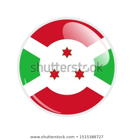 Botão Burundi bandeira mapas política fronteira Foto stock © Ustofre9