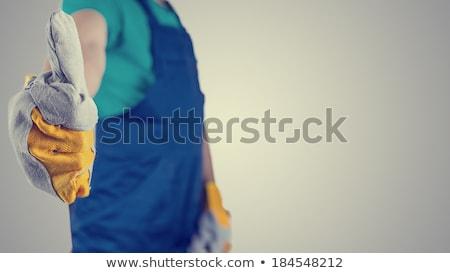Tradesman giving the thumb's up Stock photo © photography33