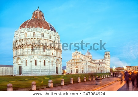 Famous square piazza miracoli Stock photo © w20er