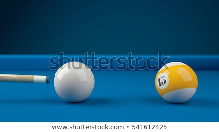 Cue ball Stock photo © Lizard