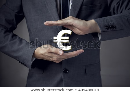 3d businessman with euro currency symbol stock photo © kirill_m