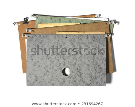 Hanging file folder labeled with Office Stock photo © Zerbor