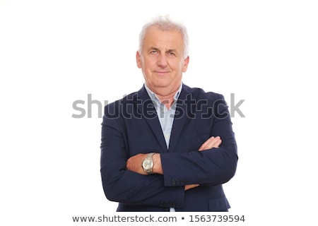 Angry older man Stock photo © ichiosea
