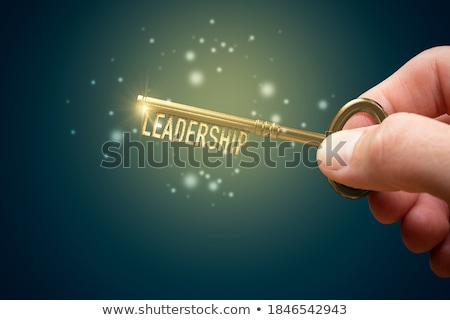 Stockfoto: Key To Leadership