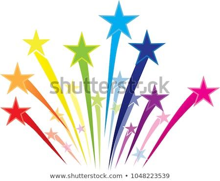 vector · frontera · resumen · arco · iris · símbolo · aislado - foto stock © freesoulproduction