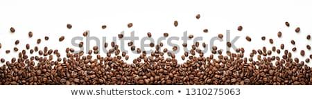 コーヒー豆 · 木製 · 表面 · コーヒー · カフェ - ストックフォト © dgilder