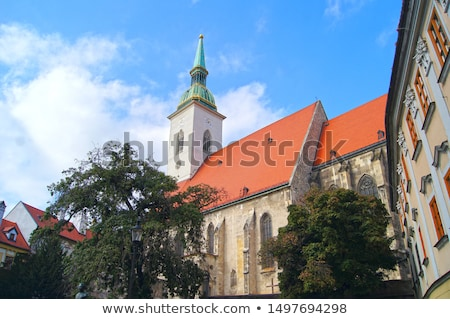 cityscape · Bratislava · noto · edifici · città · business - foto d'archivio © joyr