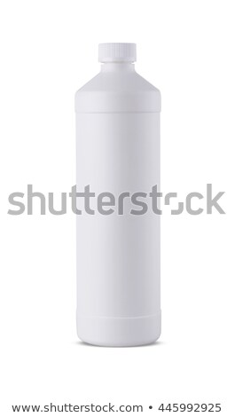 White plastic bottle template for household Stock photo © orensila
