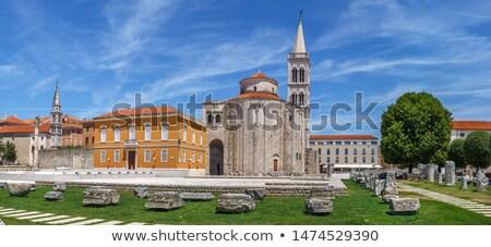 chiesa · Croazia · inizio · fondazione · antica · romana - foto d'archivio © smuki