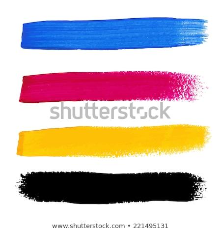 Renkler vektör akrilik kâğıt doku Stok fotoğraf © gladiolus