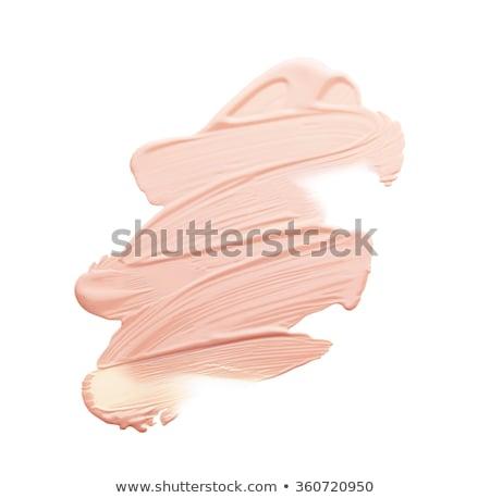 Liquido beige compongono fondazione bianco donne Foto d'archivio © tobkatrina
