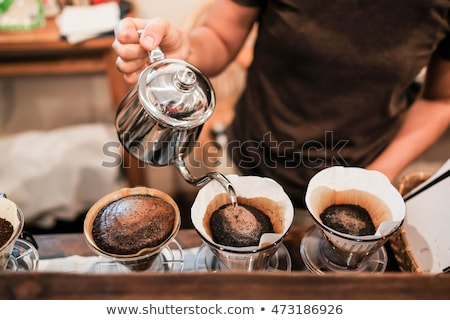 Fresh brewed coffee Stock photo © MSPhotographic