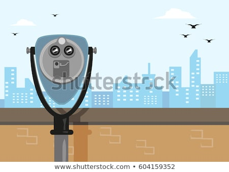 Binocular Viewer Stock photo © Kayco