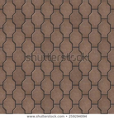 Brown Pavers. Seamless Tileable Texture. Stock photo © tashatuvango