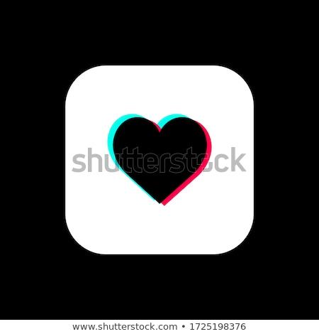 três · amor · corações · enforcamento · textura - foto stock © tilo