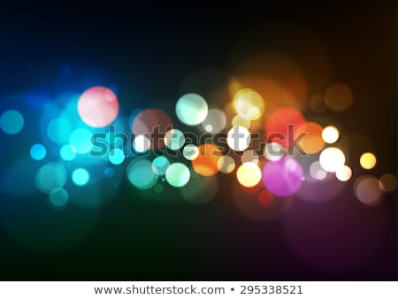 Colorful bokeh  Stock photo © BarbaraNeveu