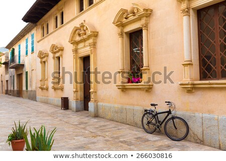 Alcudia Old Town city town hall Majorca Mallorca Stock photo © lunamarina