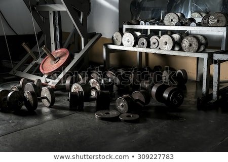 old school gym Stock photo © tracer