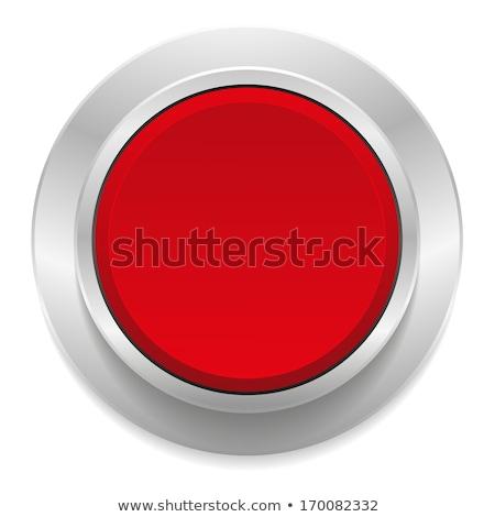 Compras assinar vermelho vetor botão ícone Foto stock © rizwanali3d