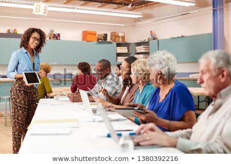 különleges · oktatás · lassú · tanul · jelentés · iskola - stock fotó © lightsource
