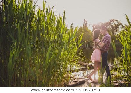 couple immersion stock photo © adrenalina