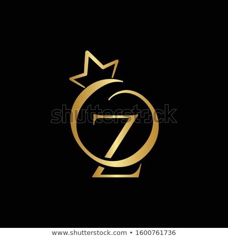Gems Z letter. Shiny diamond font. Stock photo © logoff