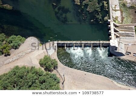 Stockfoto: Rivier · luchtfoto · water · la · Colorado