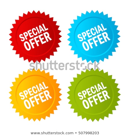 Limited Deal Green Vector Icon Button Stock photo © rizwanali3d