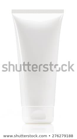White tube isolated on white Stock photo © ozaiachin