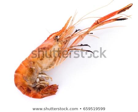 grilled giant prawns stock photo © dirkr