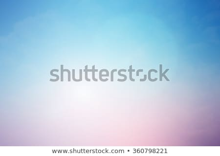 Stockfoto: Mauve · Blauw · mooie · roemeense · brunette · bikini