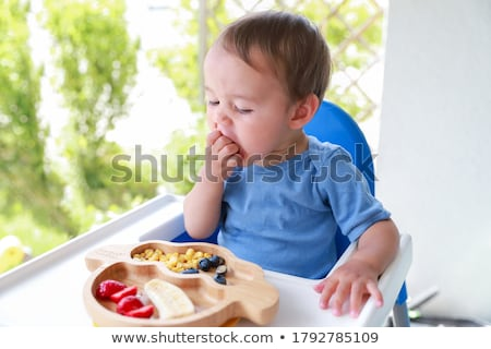 Baby Fruit And Vegetables Nutrition Stock photo © Lightsource