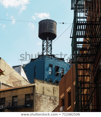 Water tank, NYC Stock photo © Vividrange