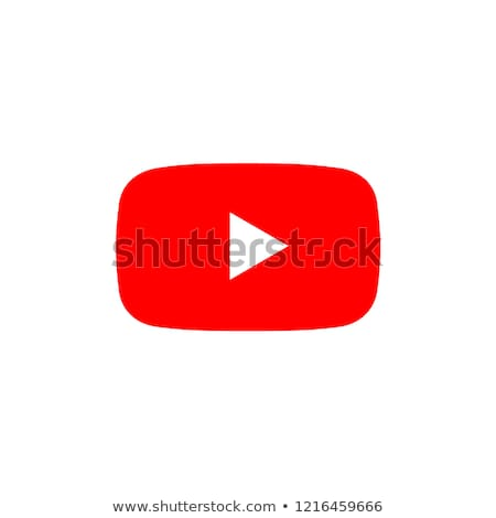 Vecteur blanche bouton jouer icône isolé Photo stock © ExpressVectors