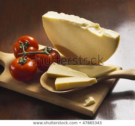 italiano · delicioso · comida · fundo · azul - foto stock © paulovilela