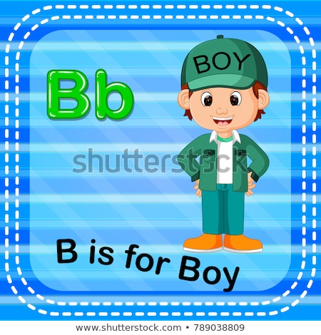 A letter B for boy Stock photo © bluering