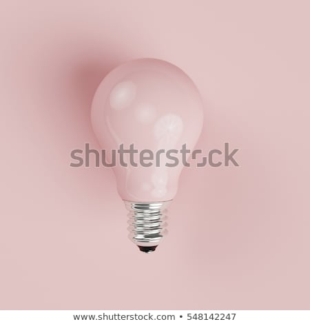 A pink light bulb Stock photo © bluering