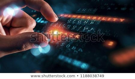 Netwerk aanval internet diensten technologie veiligheid Stockfoto © Lightsource
